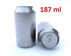 3D asset Beverage can 187 ml