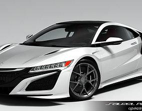 3D model Honda Acura NSX