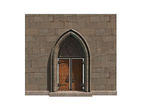 Medieval Door 2 3D asset