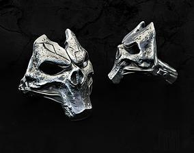 3D printable model silver ring Dark Siders
