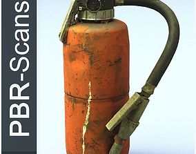 Fire extinguisher high poly 3D