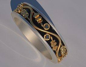 3D printable model ring mail8