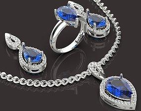 3D printable model printable Jewelry Set
