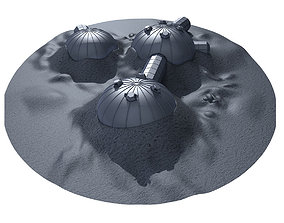 3D ESA Moon Village 2