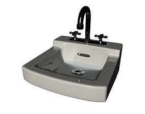 wash sink 3D model
