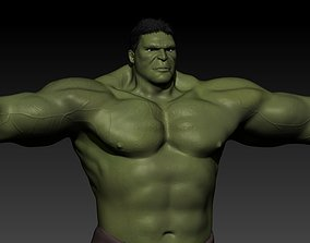 VR / AR ready The incredible hulk 3d moding for game