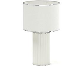 Beige Table Lamp 3D Model
