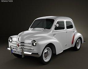 Renault 4CV sedan 1947-1961 3D