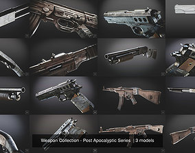 Weapon Collection - Post Apocalyptic Series 3D model