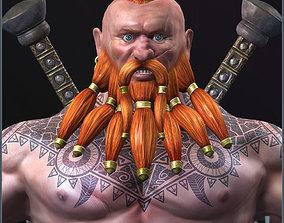 3D asset Dwarf Slayer