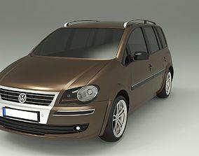 Volkswagen Touran 2009 3D