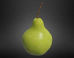 Pear fruit 3D asset game-ready