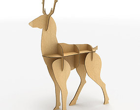 3D model realtime Deer Cardboard