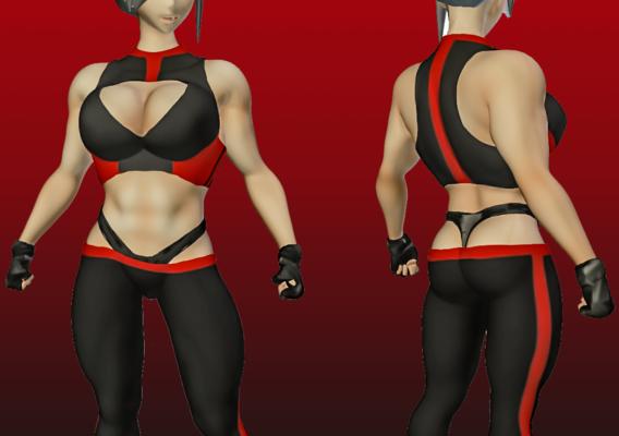 Loli Sofia Big Muscle