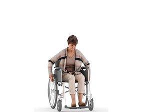 3D model Helen posed 3