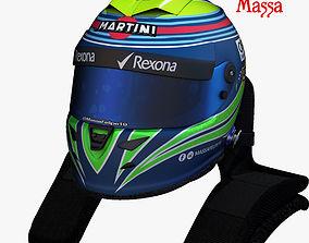 Massa helmet 2017 3D asset