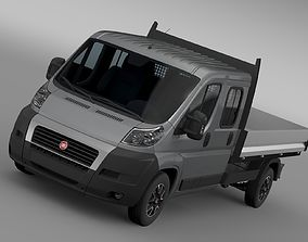 Fiat Ducato Crew Cab Truck 2009 2014 3D model