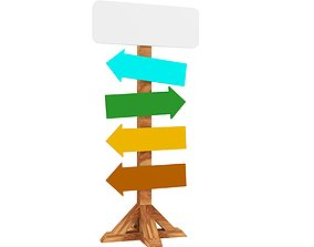 wood sider orientation routing board low-poly low-poly 2