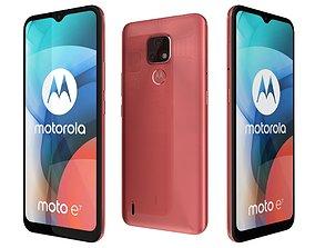 Motorola Moto E7 Satin Coral 3D model