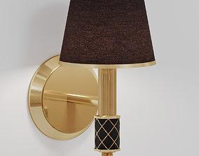 Wall lamp Boheme Murano 766 3D