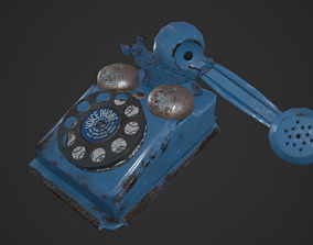 phone model for the game 3D asset