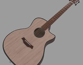 Baton Rouge Guitar 3D model