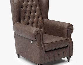 3D model Armchair of Sherlock