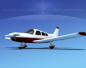 3D Piper PA-28-235 Cherokee V01