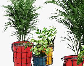 Farmstead planters 3D