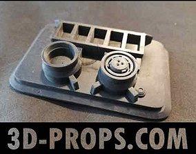 Rebel Commando Radio Pad Module Rogue 3D printable model