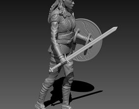 3D print model Viking Girl