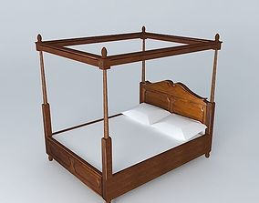 Colonies Canopy bed Houses of the world 3D model