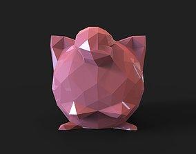 Origami Jigglypuff - Origami Pokemon - YouTube in 2020 ...   223x284