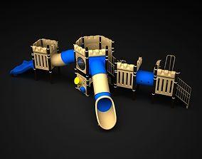 3D model Outdoor Castle hobby