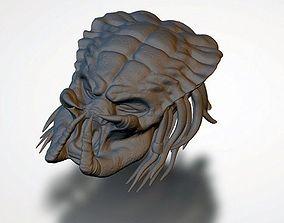 3D printable model Predator Head