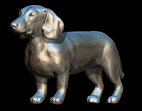 SAUSAGE DOG 3D MODEL