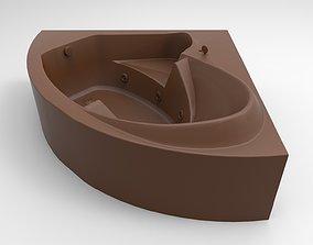 3D printable model bath 010