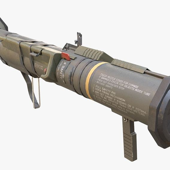 AT4 Rocket Launcher