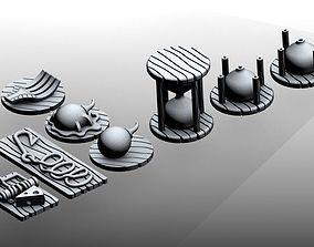 3D printable model Tokens - Mice and mystics