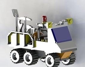 3D model lego car