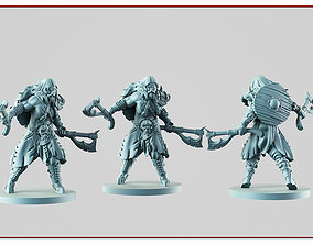3D print model knight Barbarian