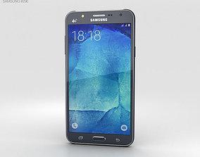 3D Samsung Galaxy J7 Black