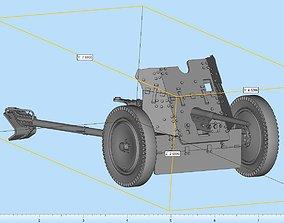 3D printable model PAK Field Artillery Highly Detailed
