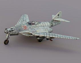 Messerschmitt me 262 HG 3 3D asset