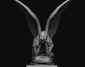 3D printable model Angel Statue graveyard