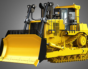 3D model C27 ACERT Bulldozer