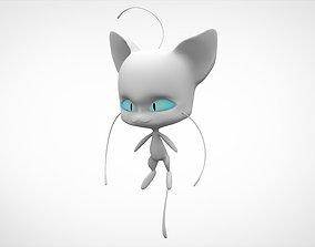 White Plagg 3D model