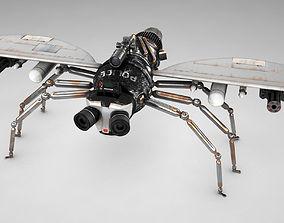 3D model Police fly