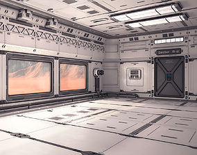 Sci Fi Lab Interior 02 3D