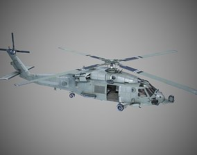 USA Navy Sikorsky SH-60 Shipborne Helicopters 3D asset 1